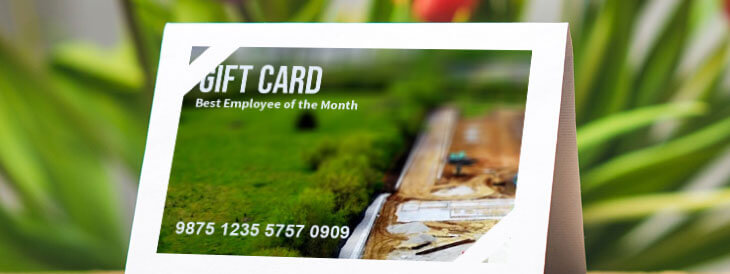 Adding a Special Touch to Your Custom Gift Card