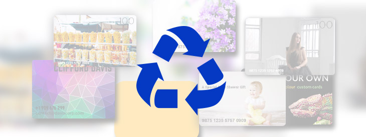 Recycling Your Plastic Gift Cards